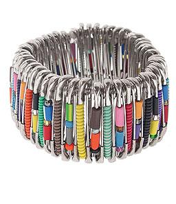 safetypin bracelet