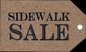 Sidewalk Sale 2015